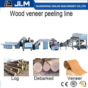 8 feet wood veneer peeling production line for plywood making