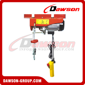 DS-PA200L-DS-PA500L Fast Speed Mini Electric Wire Rope Hoist for Lifting Equipment