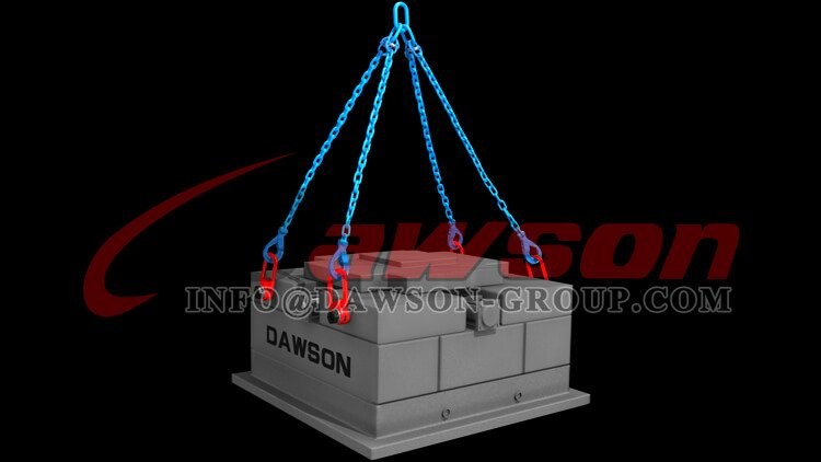 Application of G100 European Type Clevis Self-Locking Hook - Dawson Group Ltd. - China Manufacturer, Supplier