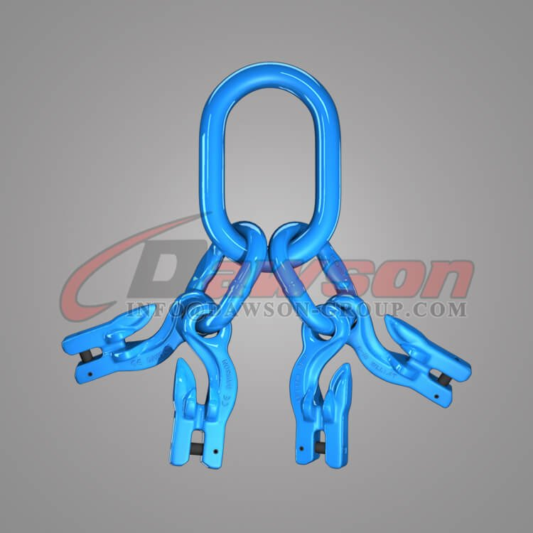 Grade 100 Master Link Assembly + Grade 100 Eye Grab Hook with Clevis Attachment×4 Dawson Group Ltd. - China Manufacturer, Factory