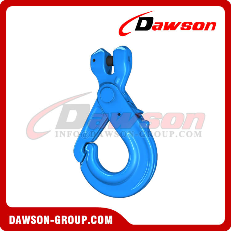 G100 Special Clevis Self-locking Hook with Grip - Dawson Group Ltd. - China Factory