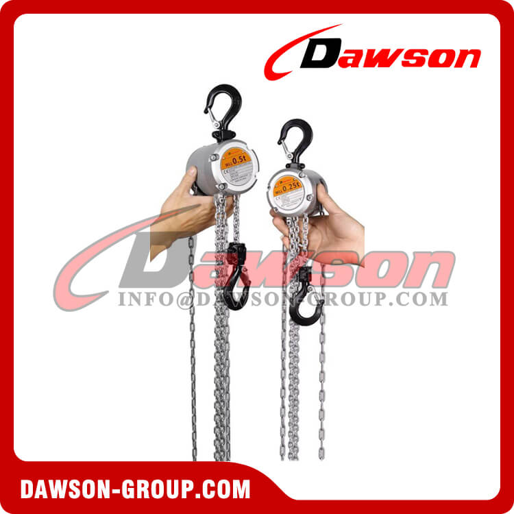 250kg Mini Aluminum Alloy Chain Hoist , Chain Block - Dawson Group Ltd. - China Supplier, Factory