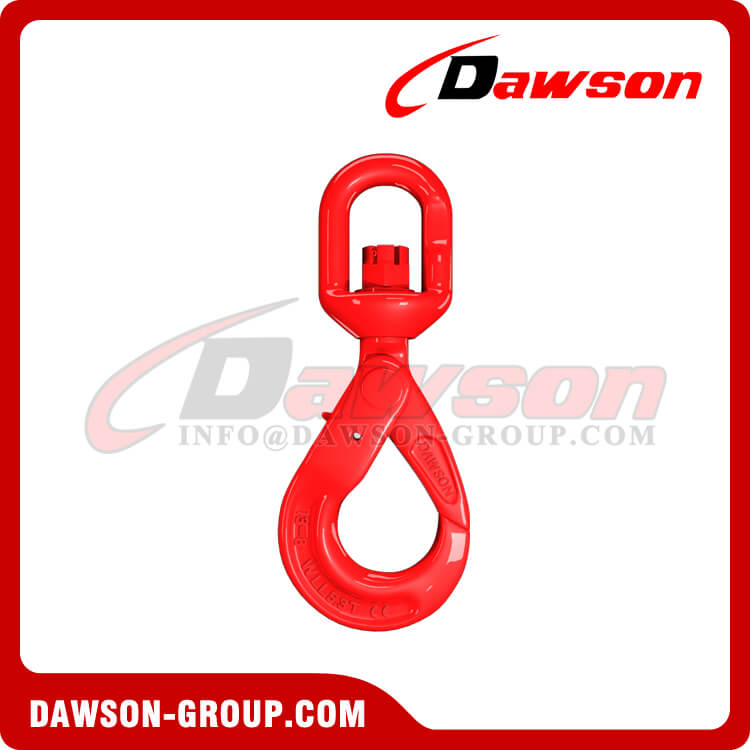 DS083 G80 European Type Swivel Selflock Hook for Chain Slings - Dawson Group Ltd. - China Manufacturer, Factory