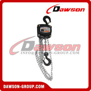 DSHS-G 0.5T - 30T Manual Chain Block with Overload Protection for Lifting