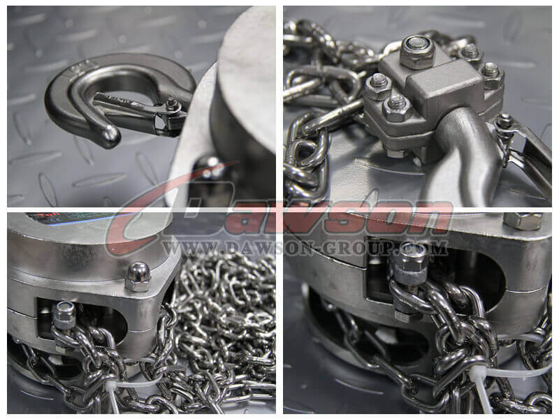 Stainless Steel Chain Hoist - China Factory