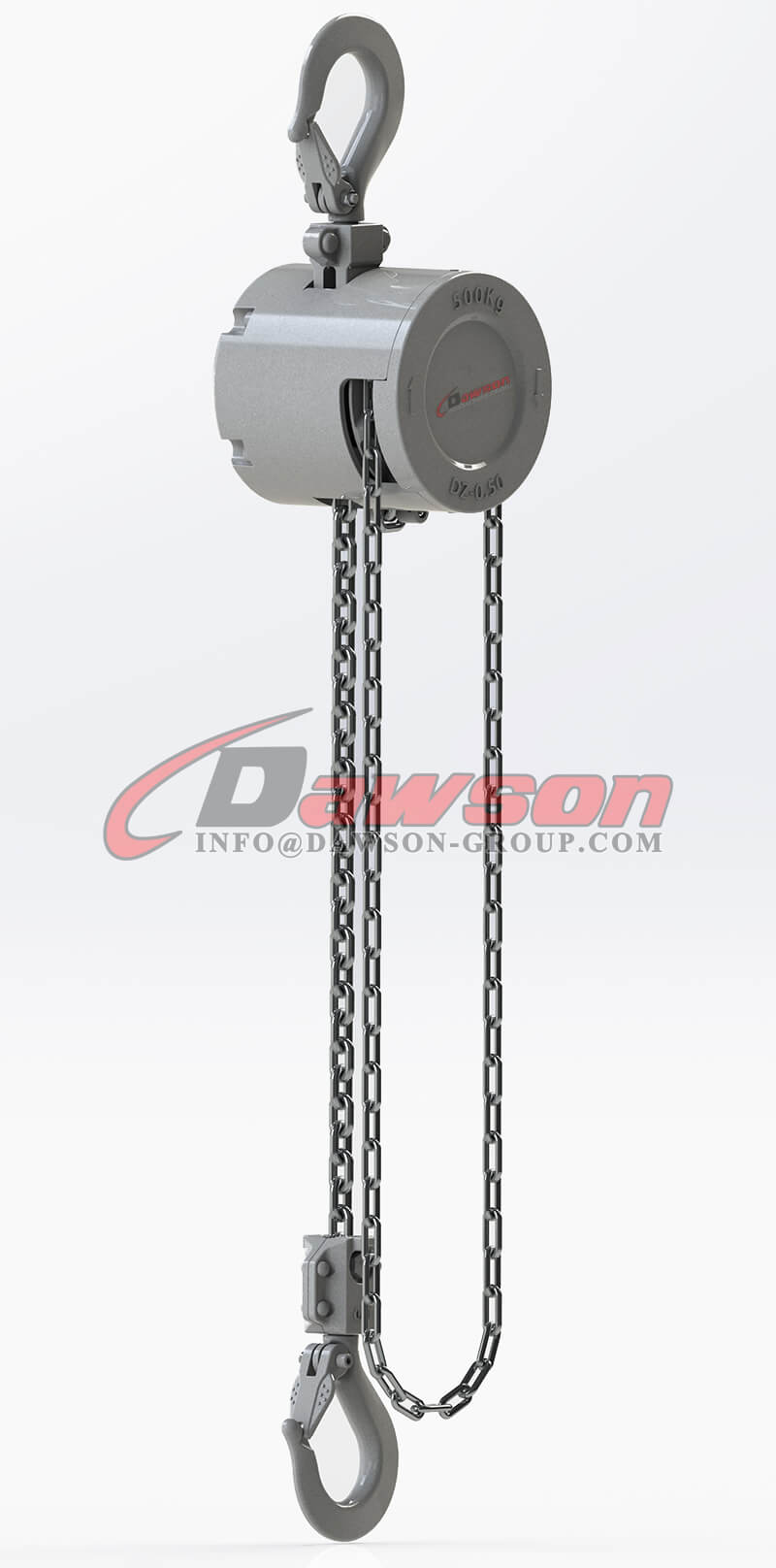 250KG Mini Aluminum Alloy Chain Hoist, Chain Block - Dawson Group Ltd. - China Manufacturer (2)