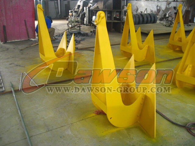 Color Optional Marine Stingray HHP Anchor For Sale - China