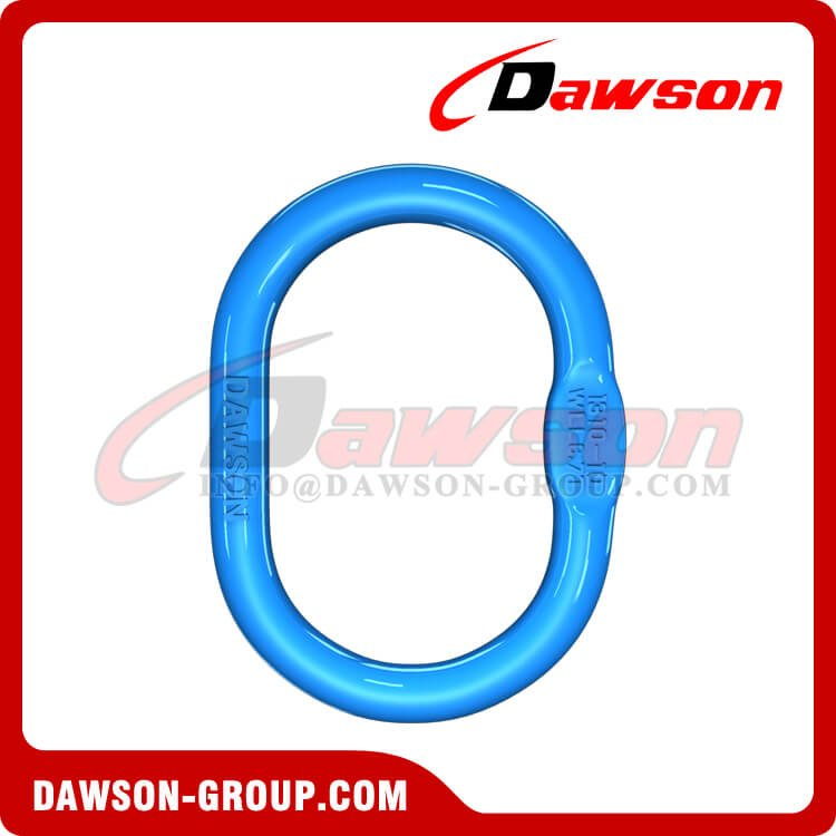 G100 Forged Oversized Master Link, Grade 100 Alloy Steel Master Link for Lifting Chain Slings - Dawson Group Ltd. - China Factory