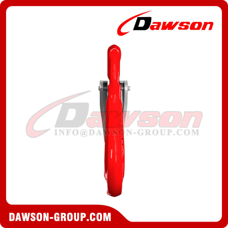 G80 Forged Eye Sling Hook with Cast Latch, Grade 80 Forged Steel Hook - Dawson Group Ltd