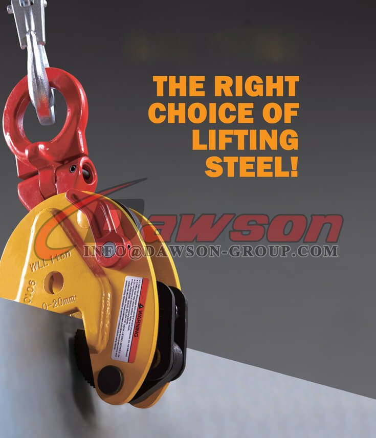 Application of Lifting Clamp - Dawson Group Ltd. - China Supplier