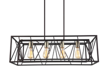 4 bulbs E27 new arrival rectangle pendant