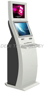 Dedi Optional color and touch screen insurance kiosk mostly use in Social Insurance Department