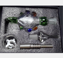 Glass Water Pipe for Green Nectar Collector Set