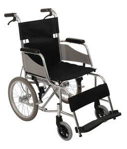 Hospital Steel Frame Foldable Manual Wheelchair For Adults FC-M2