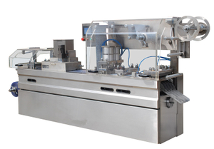 DPB-250 PVC Flat Plate Automatic Blister Packing Machine for Capsules Tablets Pills
