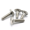DIN603 Stainless Steel Round /Mushroom Head Square Neck Carriage Bolt