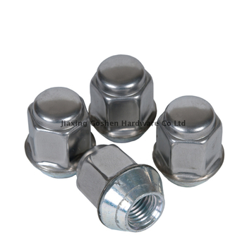 1/2 x 20 stainless steel lug locking nuts for boat trailer