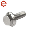 Metric Automotive Stainless Steel Flange Head Bolt DIN6921