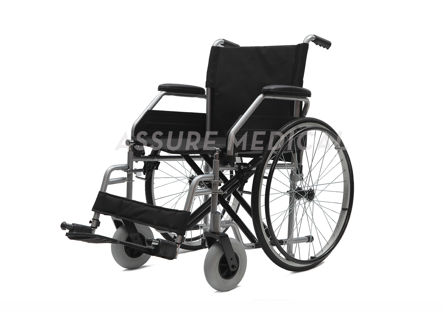 YJ-005DCG Steel manual wheelchair