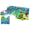 Ocean Themed Multifunctional Kids Soft Indoor Play Center with Toddler Area