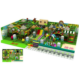 Jungle Series Entertainment Soft Children Indoor Playground with Ball Pit
