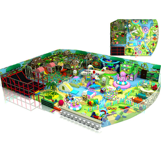 Large Scale Jungle Gym Children Indoor Playground Equipment