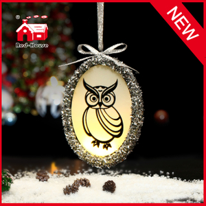 2015 New Style Product Glass House Christmas Decoration Lighting