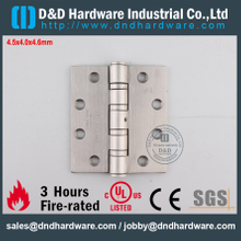 DDSS002-4.5x4x4.6mm-SSS304 Good Quality Fire Rated Ball Bearing Door Hinge with UL for Interior Door