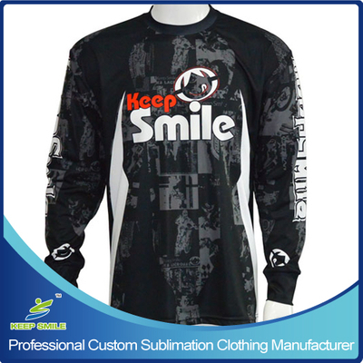 Custom Sublimation Motorcycle T Shirt