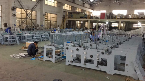 china bag making machine