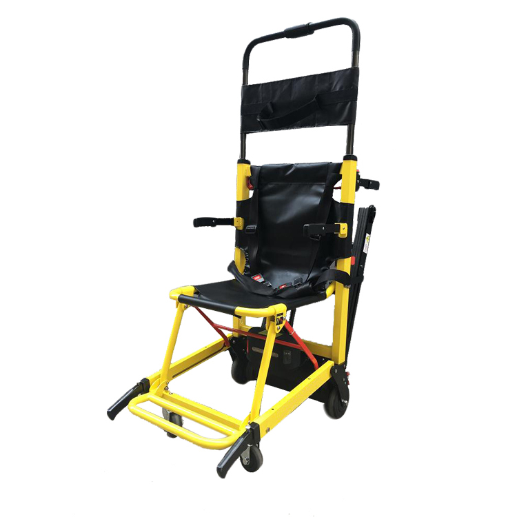 Portable electric powered stair climber wheelchair buy for Motorized chair stair climber electric evacuation wheelchair electric wheelchair