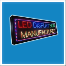 P10 320mm Height Outdoor Water Proof LED Scrolling Message Sign