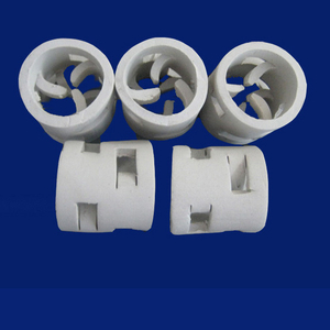 Chemical Packing Ceramic Pall Ring