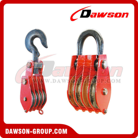 DSPB-F4 Rings Series Closed Four Wheels Pulley