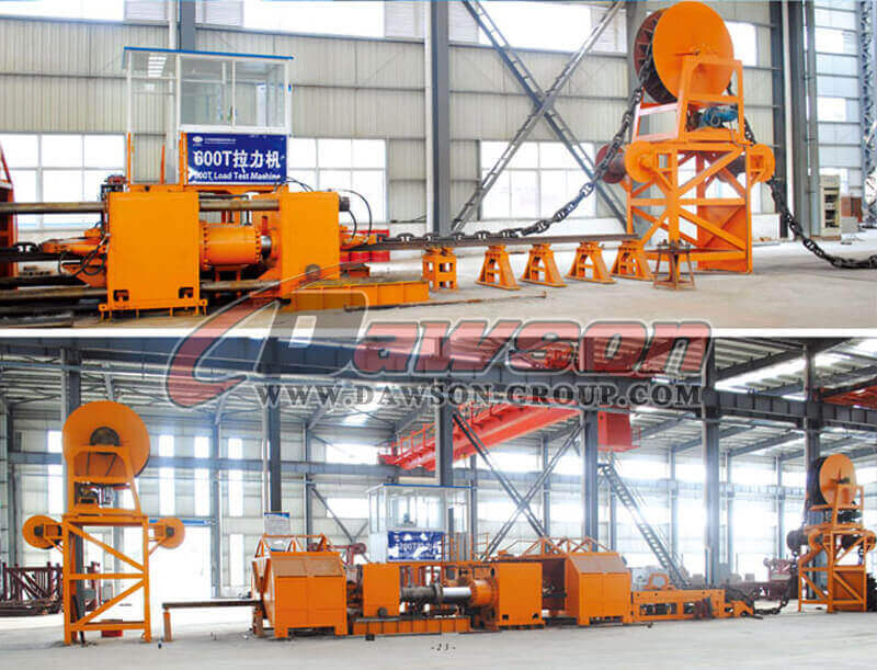 Load Test Machine 600T