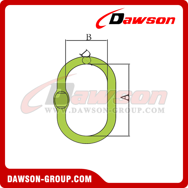 DS1014 G100 Forged Oversized Master Link - China Manufacturer, Supplier, Factory - Dawson Group Ltd.
