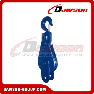 "DS-B178 Light Type Champion Snatch Block With ""L"" Plate"