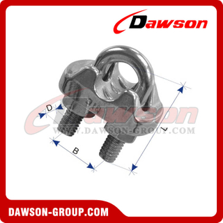 Stainless Steel Wire Rope Clip Italian Type