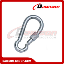 Stainless Steel Snap Hook With Screw DIN5299 Form D