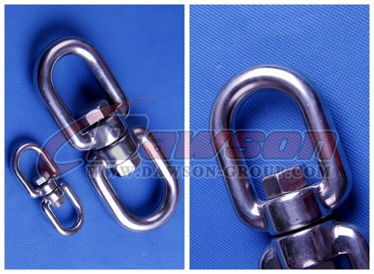 stainless steel European type eye and eye swivel - China manufacturer supplier
