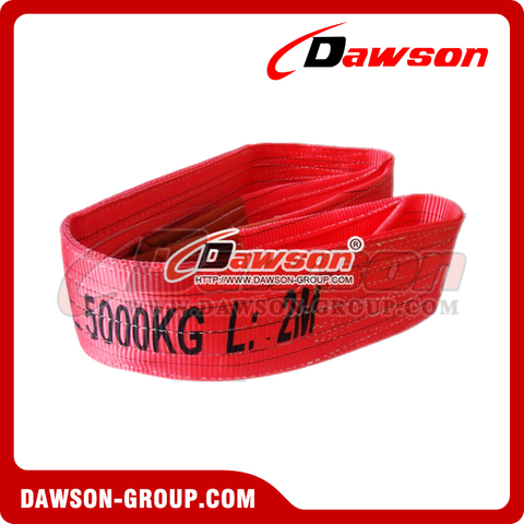 WLL 5 Ton Polyester Webbing Slings - Lifting Slings