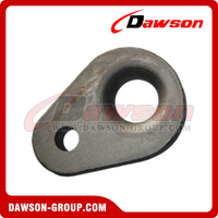 Two Hole Triangle Plate, Mooring Plate