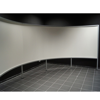 Curved-Projection-Screen