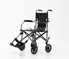 AL-BL08 Aluminum Light Weight Foldable Transport Wheelchair with Bag