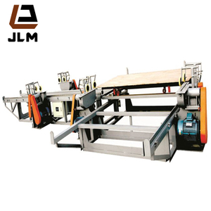 The 8 Feet Automatic Wood Veneer Peeling Line with CNC Control