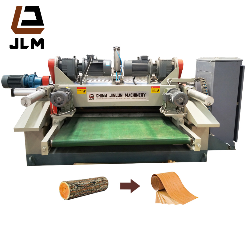 Plywood Peeling and Veneer Machine