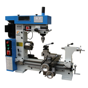 "MP800 17"" x 31"" Gear Head Lathe Mill Drill Combo"