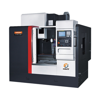VMC640L 23 3/5'' X 15 4/5'' X 17 4/5'' CNC Vertical Machining Center 3 Axis Linear Guideway