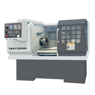 CK6132 12 1/2'' X 19 1/2'' CNC Lathe With 6 Positions Toolpost