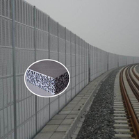 Highway Wall Acoustic Aluminum Foam Panels